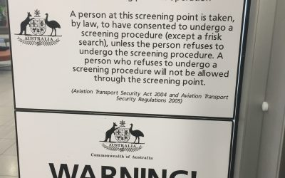 Australian Domestic Aviation Security Screening Problems for Amputees and travellers with metal implants. – Part 2